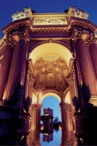 ©2006 Jerry Lee Hayes The classical Roman rotunda seen here is just one of the stunning architectural examples at the Palace of Fine Arts
