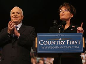 Gov. Sarah Palin gives her acceptance speech for her nomination as vice president.