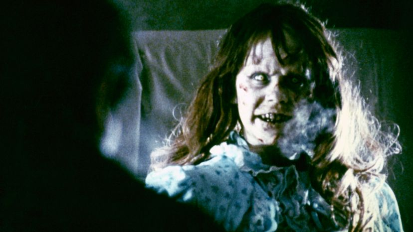 """Satan was a hot topic in movies in the 1960s and '70s. In the film """"The Exorcist,"""" Regan (seen here, played by actress Linda Blair) is demonically possessed. Warner Bros. Pictures/Sunset Boulevard/Corbis via Getty Images"""