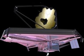 Artist's conception of the James Webb Space Telescope