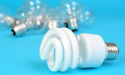 You can replace traditional incandescent bulbs with three energy-efficient choices: energy-saving incandescent bulbs; compact fluorescent lamps (CFLs); and LEDs, or light emitting diodes.
