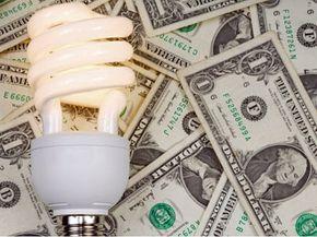 Halogen light bulbs save energy and dollars.
