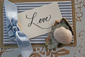 Save-the-dates are usually a must for destination weddings.