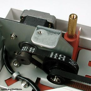 The precision of the stepper motor determines the y-direction sampling rate.
