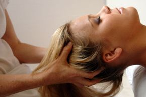 How can a scalp massage relieve stress? See more pictures of personal hygiene practices.
