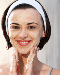 Exfoliation is a great place to start for natural-looking scar coverage.