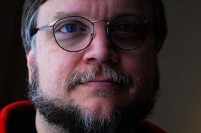"""Guillermo del Toro hangs out in Toronto in January 2013 while promoting """"Mama."""""""