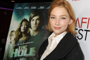 """Haley Bennett played Julie in Joe Dante's 2009 movie """"The Hole,"""" another cinematic experience in which the canine actor remains unharmed."""