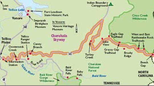 Tennessee Scenic Drive: Cherohala Skyway