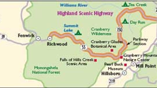 West Virginia Scenic Drives: Highland Scenic Highway