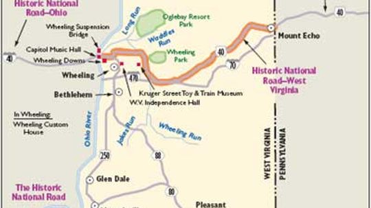West Virginia Scenic Drives: Historic National Road