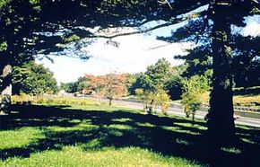 Pastoral views like this one are plentiful along Merritt Parkway.