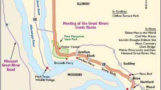 Illinois Scenic Drives: Great Rivers Scenic Route