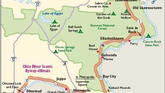 Illinois Scenic Drives: Ohio River Scenic Byway