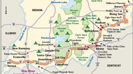 Indiana Scenic Drives: Ohio River Scenic Byway