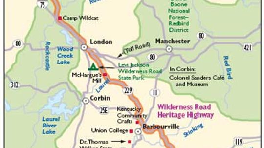 Kentucky Scenic Drives: Wilderness Road Heritage Highway