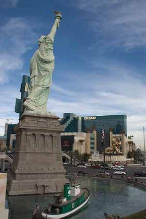 New York, New York is one of many casinos off the Las Vegas Strip.