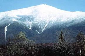 Mount Washington towers above White Mountain Trail.
