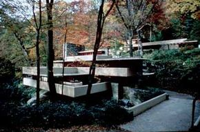 Frank Lloyd Wright's Fallingwater is one of the draws of Historic National Road.