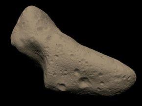 The asteroid Eros