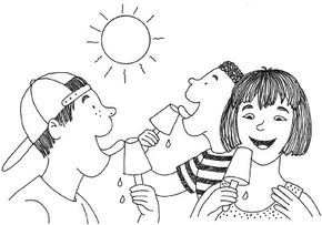 ©2007 Publications International, Ltd.                              Change liquid to solid by making ice pops.