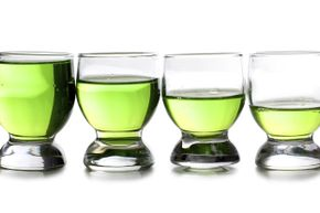 What's causing the liquid to disappear from these glasses?