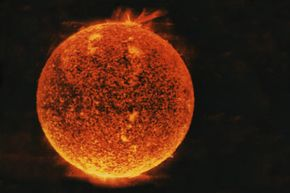 Is this what the sun will look like in its final years?