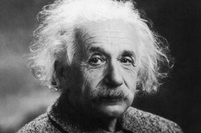 The genius himself:  Albert Einstein.