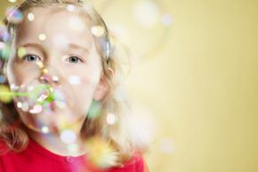 Bubbles are round because they want to be -- thanks to cohesion.
