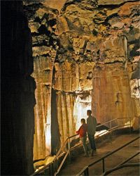 You, too, could check out the ruins of Karnak inside Mammoth Cave if you visit this treasure trove of geological marvels.