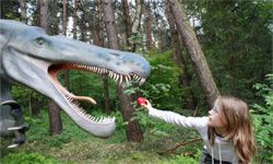 Why not make grappling with dinosaurs a teaching moment?