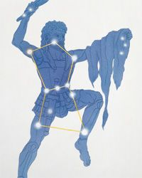 Can you name that constellation? It's our man Orion. Spend some time finding him and his starry buddies in the sky.