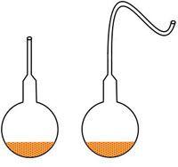 Pasteur experiment illustration