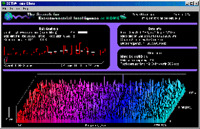 The SETI@Home screensaver is a popular screensaver that actually does something useful.