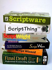 There are many software programs available to help screenwriters format scripts.