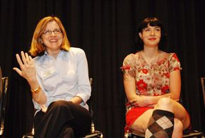 Writing workshops are a good way to learn about screenwriting. Screenwriters Robin Swicord, left, and Diablo Cody, right, offer advice for aspiring screenwriters.