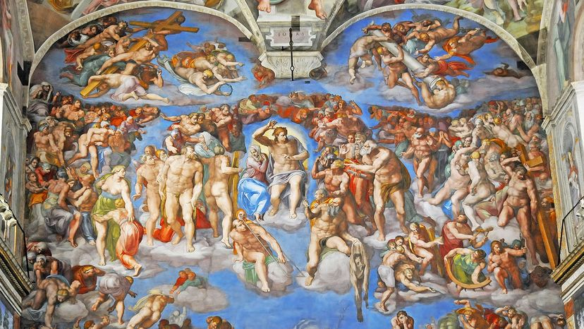 """The Last Judgment"""" by Michelangelo"""