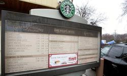 Most people like their coffee a certain way, and Starbucks is willing to make most requests.