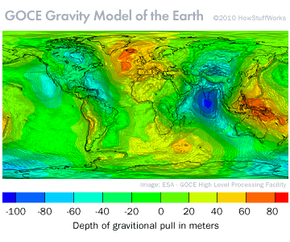 GOCE Gravity Model of the Earth