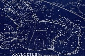 Sea monsters are so renowned that they even have their own constellation, Cetus.