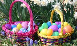 Easter egg hunts are big in the spring.