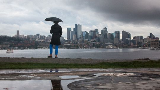 Is Seattle the rainiest city in the U.S.?