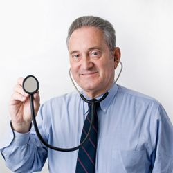 This doctor is ready and willing to discuss your heartburn.