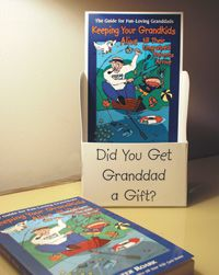 Walter Roark created these simple counter displays to help sell his books in USA Baby stores.