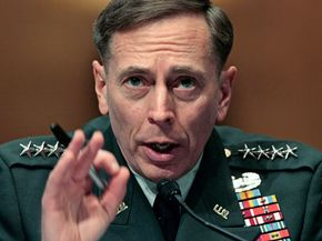 Gen. David Petraeus during the 2008 Senate confirmation hearing on his appointment to head of U.S. Central Command.