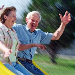 Uncontrollable laughter and embarrassing moments are all part of dating at any age.