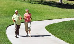 Walking is such a healthful activity, the AARP and Stanford University designed a program encouraging people over 50 to organize their own walking groups.