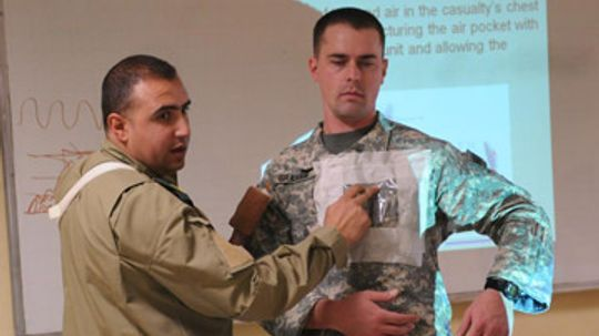 What is the role of a senior medic in the Army?
