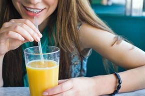 Try drinking orange juice with an iron-rich vegetable.