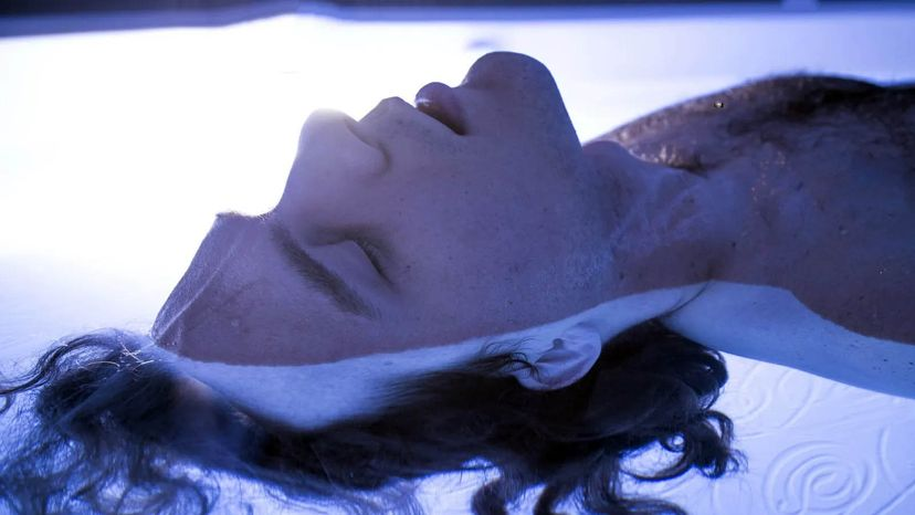 sensory deprivation tank